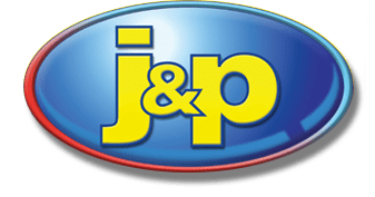 J and P Plumbing and Heating Logo